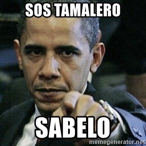 Pissed Off Barack Obama - Sos tamalero sabelo