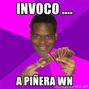 Cunning Black Strategist - invoco .... a piñera wn