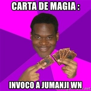 Cunning Black Strategist - carta de magia : invoco a jumanji wn