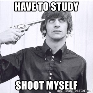 Sad Life Of Ringo Starr - have to study shoot myself