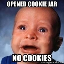 Very Sad Kid - Opened cookie jar no cookies