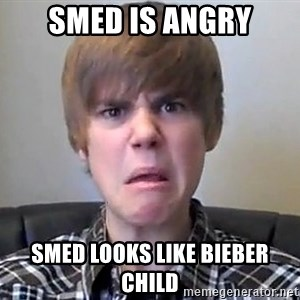 Justin Bieber 213 - SMED IS ANGRY SMED LOOKS LIKE BIEBER CHILD