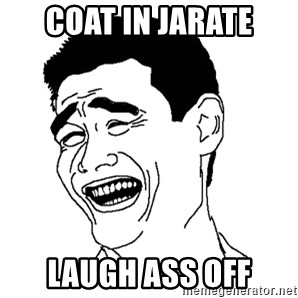 Yaomingpokefarm - coat in jarate laugh ass off