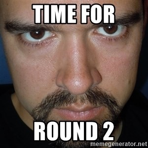 Scary Nathan - Time for round 2