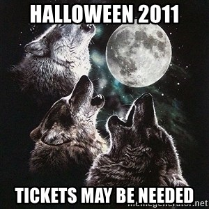 Lone Wolf Pack - Halloween 2011 tickets may be needed