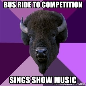 Fuck Yeah Band Buffalo - bus ride to competition sings show music