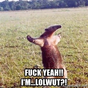 Anteater - Fuck Yeah!! I'm...LOLWUT?!