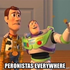 Consequences Toy Story - Peronistas everywhere