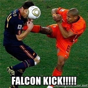 Netherlands - falcon kick!!!!!