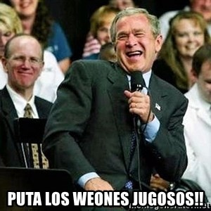 Laughing Bush - puta los weones jugosos!!