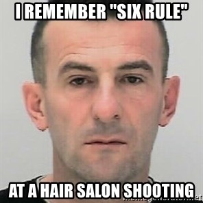 "Ibrahim Shkupolli - I remember ""six rule"" at a hair salon shooting"