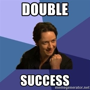 Success James Mcavoy - DOUBLE SUCCESS