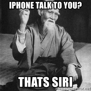 Bad Advice Asian - Iphone talk to you? Thats siri