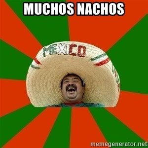 Successful Mexican - muchos nachos