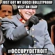 pinochet riendose - just got my gucci bulletproof vest on ebay #occupydetroit