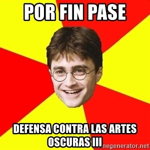 cheeky harry potter - por fin pase  defensa contra las artes oscuras III