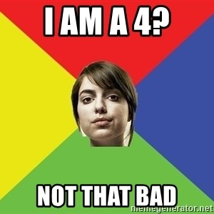 Non Jealous Girl - I am A 4? Not that bad