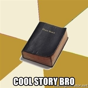 Denial Bible - Cool Story Bro