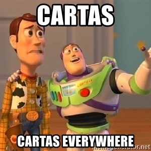 Consequences Toy Story - Cartas cARTAS EveryWHERE