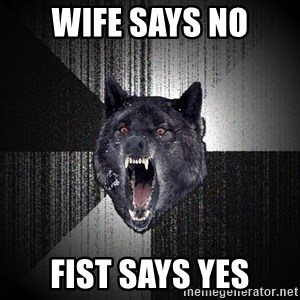 Insanity Wolf - WIFE SAYS NO FIST SAYS YES