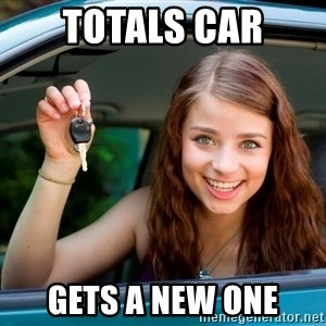 Teen Driver - Totals car gets a new one