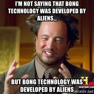 Giorgio A Tsoukalos Hair - I'm not saying that bong technology was developed by aliens... but bong technology was developed by aliens