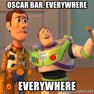 Consequences Toy Story - OSCAR BAR, EVERYWHERE EVERYWHERE