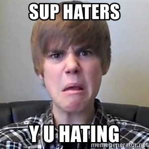 Justin Bieber 213 - sup haters Y U HATING