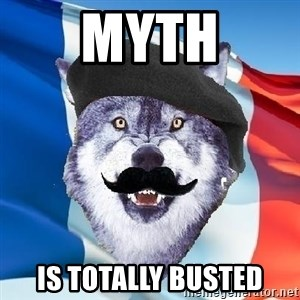 Monsieur Le Courage Wolf - Myth is totally busted