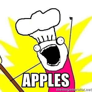 BAKE ALL OF THE THINGS! - apples