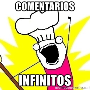 BAKE ALL OF THE THINGS! - comentarios  infinitos