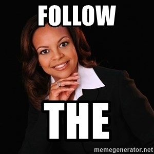 Irrational Black Woman - FOLLOW THE