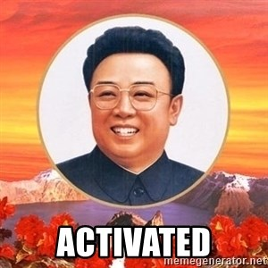 Kim Jong Il - Activated