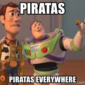 Tseverywhere - piratas piratas everywhere