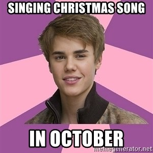 jbnoinuiybiy - singing christmas song in october