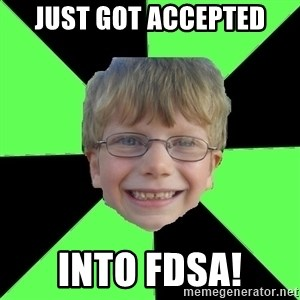 Funny Stupid - JUST GOT ACCEPTED INTO FDSA!