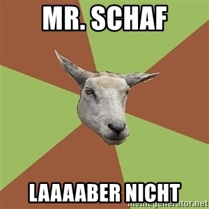 The Gamer Sheep - MR. SCHAF LAAAABER NICHT