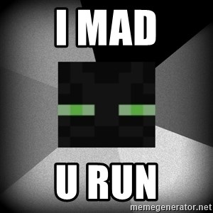 Enderman 1.8 - I mad U run