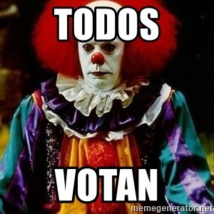 it clown stephen king - Todos votan