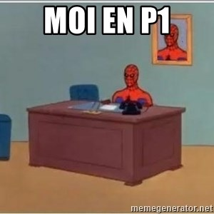 Spiderman Desk - Moi en p1