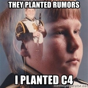 PTSD Clarinet Boy - they planted rumors i planted c4