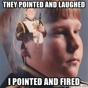 PTSD Clarinet Boy - they pointed and laughed i pointed and fired