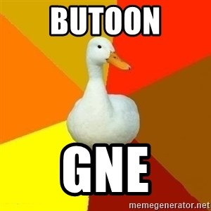Technologically Impaired Duck - BUTOON GNE
