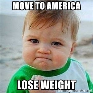 Bien CTM - Move to america lose weight