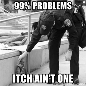 Oakland Riot Cat - 99% problems itch ain't one