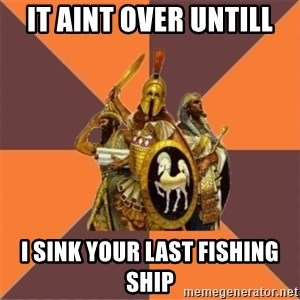 Age of Empires '97 - it aint over untill i sink your last fishing ship