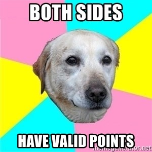Politically Neutral Dog - BOTH SIDES HAVE VALID POINTS