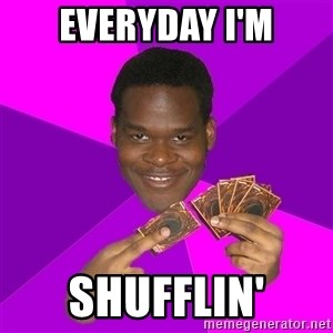 Cunning Black Strategist - everyday i'm shufflin'