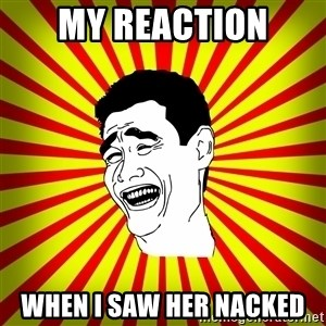 Yao Ming trollface - my reaction when i saw her nacked