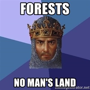 Age Of Empires - FORESTS NO MAN'S LAND